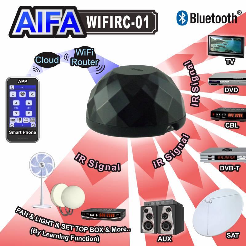The WiFi Remote Control of AIFA